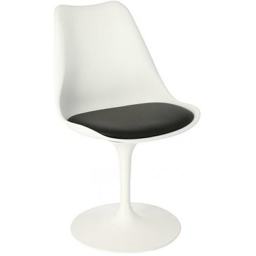 Krzesło Tulip Basic białe/ czarne