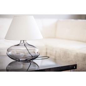 Szklana lampa wisząca Manhattan Chic II Amber 20 do salonu. Kolor biały, czarny, Kształt podłużny, Styl industrialny.