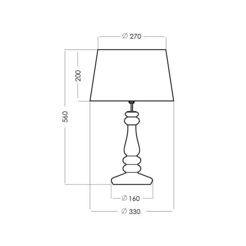 Lampa wisząca Gypsum 25