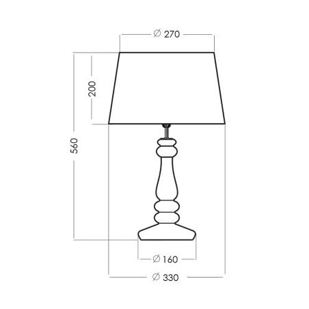 Lampa wisząca Mortar L