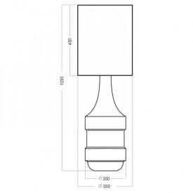 Stylowa Lampa podłogowa industrialna Race 3 Brilliant do salonu. Kolor betonowy, rdzawa powłoka w cenie 755,00 PLN.