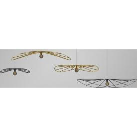 Stylowa Szklana lampa sufitowa Tanic V Brilliant do salonu. Kolor przeźroczysty, biały, Styl vintage.