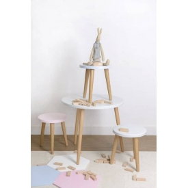 Stylowa Lampa stołowa industrialna druciana Age 17 Brilliant do salonu. Kolor mosiądz. Cena - 299,00 PLN.