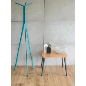 Stylowa Lampa stołowa druciana Age 23 Brilliant do salonu. Kolor mosiądz, Styl industrialny.