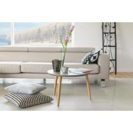 Stylowy Plafon sufitowy Baron 52 Trio do salonu. Kolor czarny, biały. Styl inspirowane.