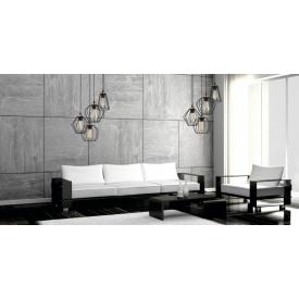 Stylowy Reflektor sufitowy Tori 12 ZumaLine do salonu. Kolor czarny, biały. Styl minimalistyczny.