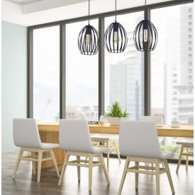 Stylowy Reflektor sufitowy Gino ZumaLine do salonu. Kolor czarny, biały. Styl nowoczesny.