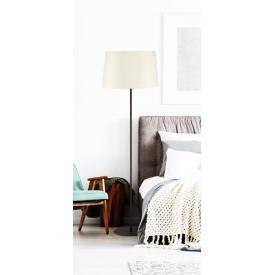 Stylowy Reflektor sufitowy Lomo 18 ZumaLine do salonu. Kolor czarny, biały. Styl minimalistyczny.