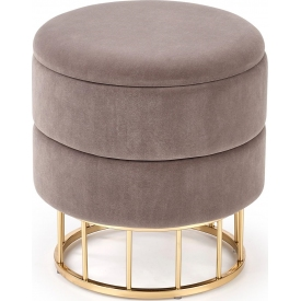 Designerski Okrągły stolik dziecięcy Caspian 41 do salonu. Kolor biały, szary, grafitowy, dąb, stelaż/podstawa drewniana.
