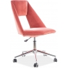 Pax pink velvet youth office chair Signal