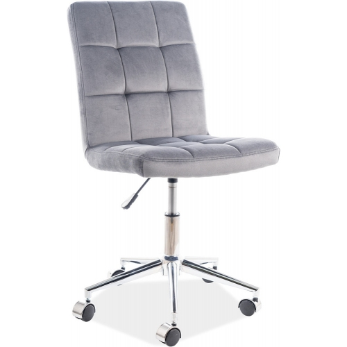 Q020 grey quilted office chair Signal