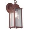 Olona copper outdoor wall lamp Trio