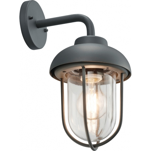 Duero antharcite outdoor wall lamp Trio
