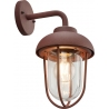 Duero copper outdoor wall lamp Trio