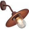Brenta copper outdoor wall lamp Trio