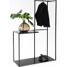 Object010 black coat stand with shelf NG Design