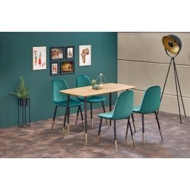 Designerski Fotel biurowy Ascot Halmar. Kolor biały, Materiał: tkanina, Styl nowoczesny.
