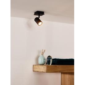 Stylowa Lampa podłogowa industrialna Omega Nordifra do salonu. Kolor biały, czarny, szary w cenie 510,00 PLN.