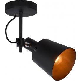 Stylowy Stół prostokątny Vitro 120 Signal do salonu. Kolor dąb, stelaż/podstawa drewniana. Styl skandynawski.
