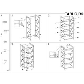 Stylowy Stół rozkładany Vitro 120 Signal do salonu. Kolor dąb, stelaż/podstawa drewniana. Styl skandynawski.