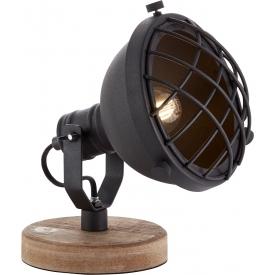 Stylowa Betonowa lampa wisząca Primitivo LoftLight do salonu. Kolor jasno szary, szary, czarny, Styl industrialny.
