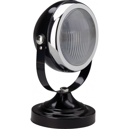Rider 17 black industrial table lamp Brilliant