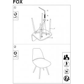 Tapicerowane krzesło Mitzie