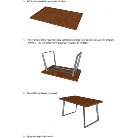 Designerskie Krzesło z podłokietnikami Malmo MaloDesign do kuchni. Kolor czarny, szary, Styl inspirowane.
