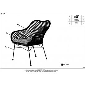 Krzesło Casino z tworzywa Resol