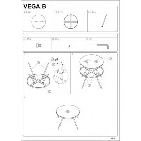 Tapicerowany stołek barowy Colin Velvet Signal