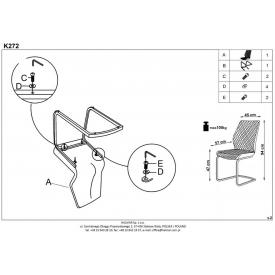 Kwadratowy stół Puro 80 Signal