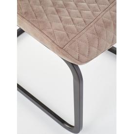 Stylowy Stół kwadratowy Puro 60 Signal do salonu. Kolor dąb, stelaż/podstawa metalowa. Styl industrialny.