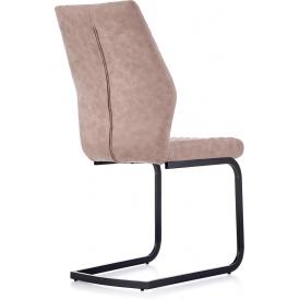 Stylowy Stół kwadratowy Puro 70 Signal do salonu. Kolor dąb, stelaż/podstawa metalowa. Styl industrialny.