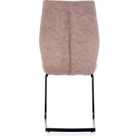 Stylowy Stół kwadratowy Puro 80 Signal do salonu. Kolor dąb, stelaż/podstawa metalowa. Styl industrialny.