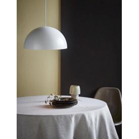 Designerska Lampa stołowa Strap DFTP do sypialni. Kolor biały, czarny, Styl skandynawski.