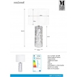 Industrialna Lampa wisząca druciana Cayo 16 TK Lighting do salonu. Kolor: czarny w cenie 69,00 PLN.
