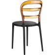 Tapicerowane krzesło z podłokietnikami Candis II Actona do jadalni. Kolor: jasno zielony, szary, stelaż/podstawa metalowa. Styl