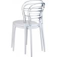 Designerski Tapicerowany stołek barowy Grace Low Actona z oparciem do kuchni w cenie 489,00 PLN.
