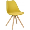Norden Star yellow scandinavian cushion chair Intesi
