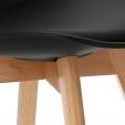 Stylowa Lampa wisząca Futuri Star 48 Step Into Design nad stół. Kolor srebrny, złoty, Styl inspirowane.