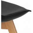 Tapicerowane krzesło Hiko Intesi do jadalni. Kolor: jasny brąz, ciemny brąz, podstawa metalowa. Styl nowoczesny, 199,00 PLN