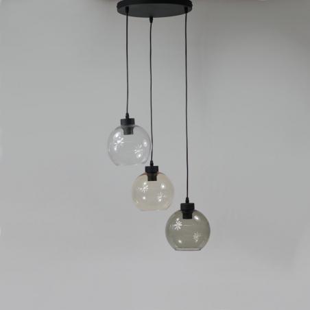 Lampa wisząca szklana Solaris Step Into Design