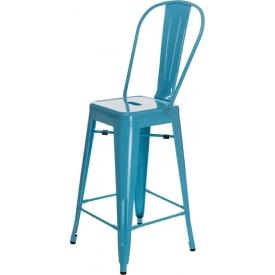 Krzesło Skin White z podłokietnikami Resol