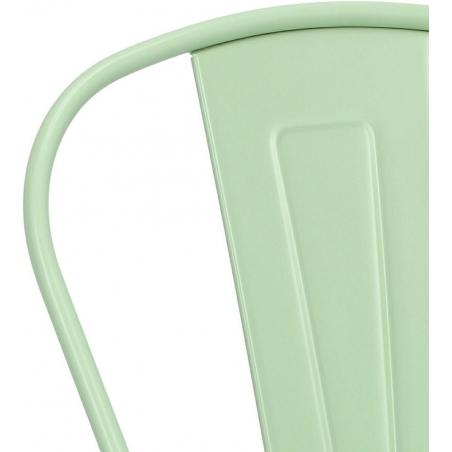 Paris insp. Tolix mint metal chair D2.Design