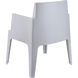 Designerski Fotel obrotowy kubełkowy Morel Halmar. Kolor niebieski, popiel, Materiał: tkanina, Styl nowoczesny.