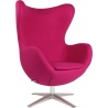 Jajo Chair pink swivel armchair D2.Design