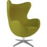 Jajo Chair olive swivel armchair D2.Design