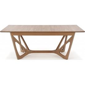 Skandynawski Stół rozkładany Wenanty 160x100 Orzech Halmar do salonu, jadalni i kuchni.