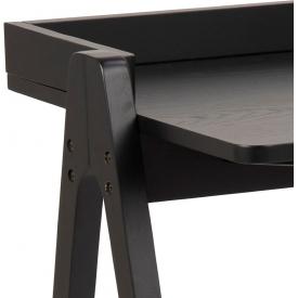 Designerski Okrągły stolik kawowy Cascada 60 Halmar do salonu. Kolor dąb złoty, stelaż/podstawa drewniana.