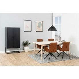 Designerski Fotel wypoczynkowy Amorino Halmar do salonu. Kolor jasno niebieski, jasno różowy, Styl nowoczesny.